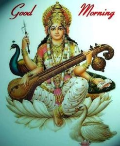 Good Morning God Images Maa Saraswati