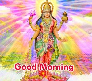 Good morning maa laxmi image