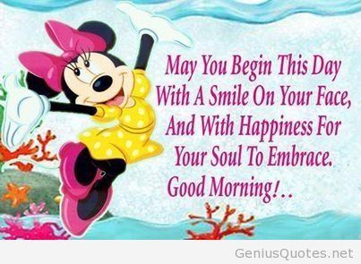 Good morning to you quote - Greetings1