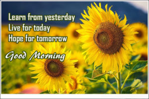 good morning quotes hope for tomorrow