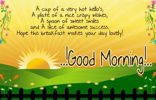 Very Good Morning Wishes Quotes Pictures Greetings1