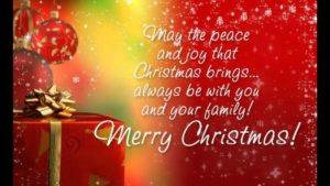 merry christmas greetings message for all