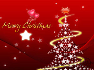 merry christmas greetings images with star