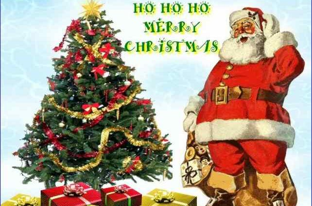 Santa Claus ho ho merry christmas images