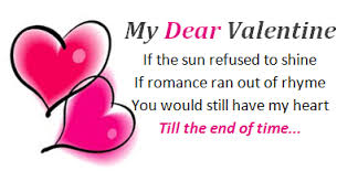 Short Valentines Day Poems Valentines Day Poems For Girlfriend